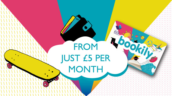 Bookily gift cards from just £5 per month