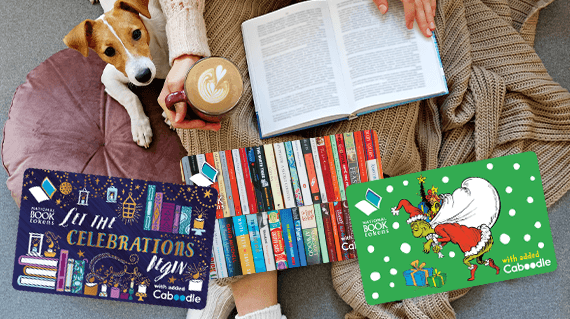 National Book Tokens standard gift cards